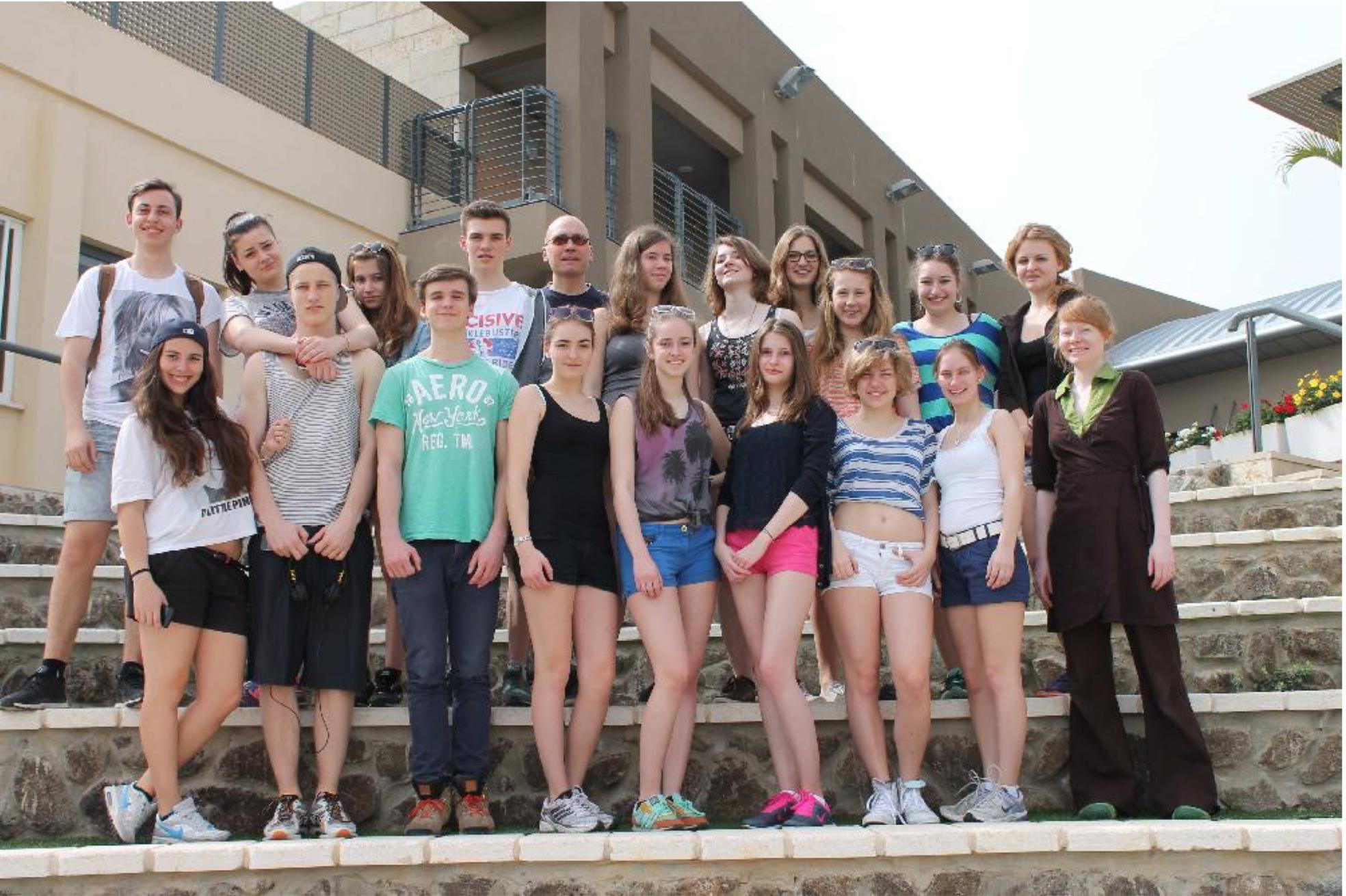 Evangelisches Gymnasium Kleinmachnow: Shalom Israel – Eine Begegnungsreise ins Heilige Land – März 2014
